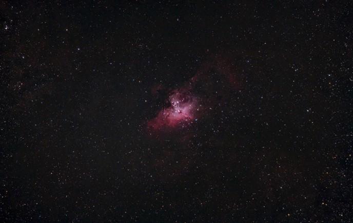 Eagle Nebula - 80mm Telescope