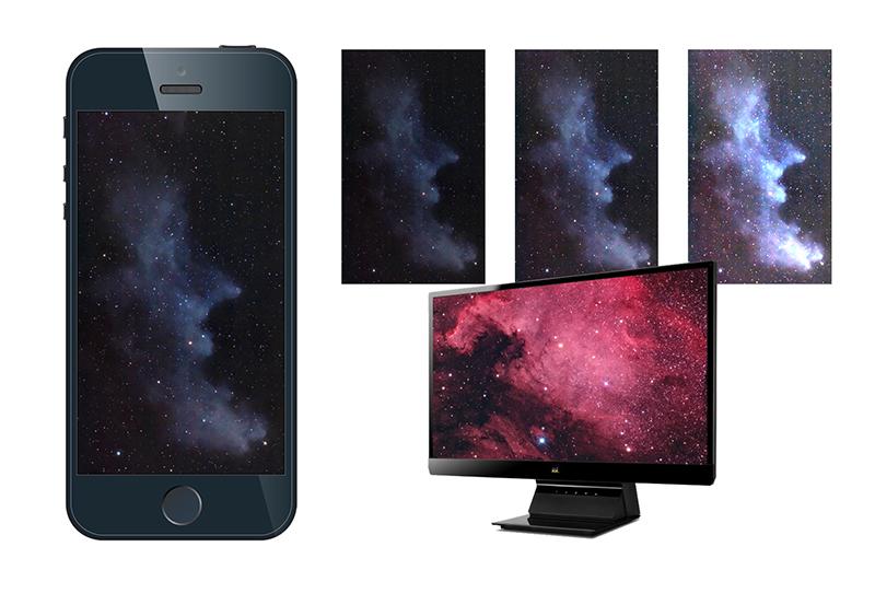 astrophotography display screen brightness