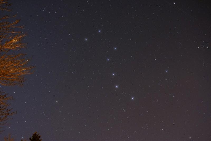 The Big Dipper Asterism