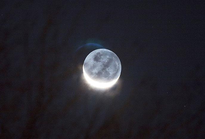 Crescent Moon Astrophotography