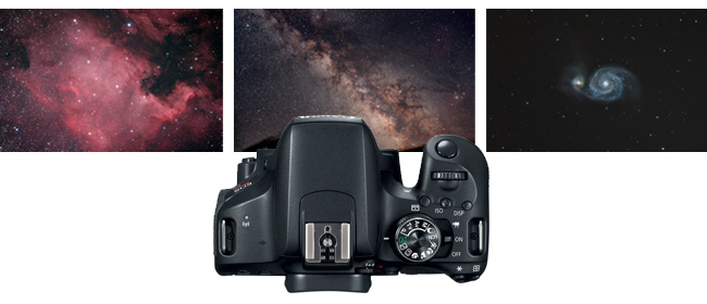 DSLR astrophotography images