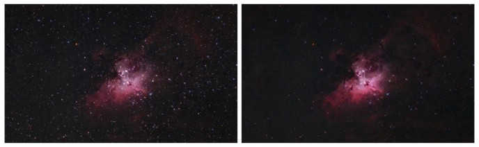 Selective Processing - Astrophotography