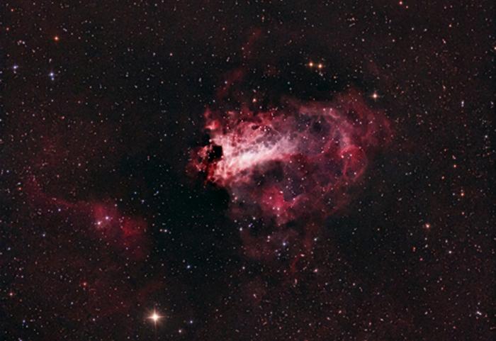 Swan Nebula - 8 Inch telescope