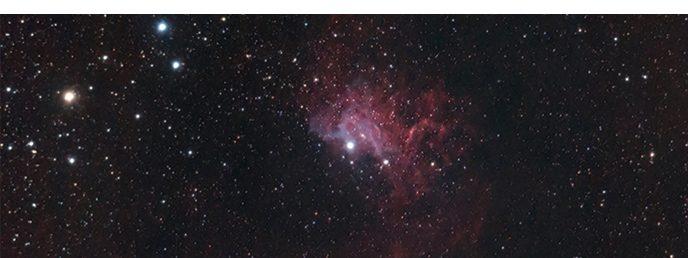 IC 405 - Flaming Star Nebula