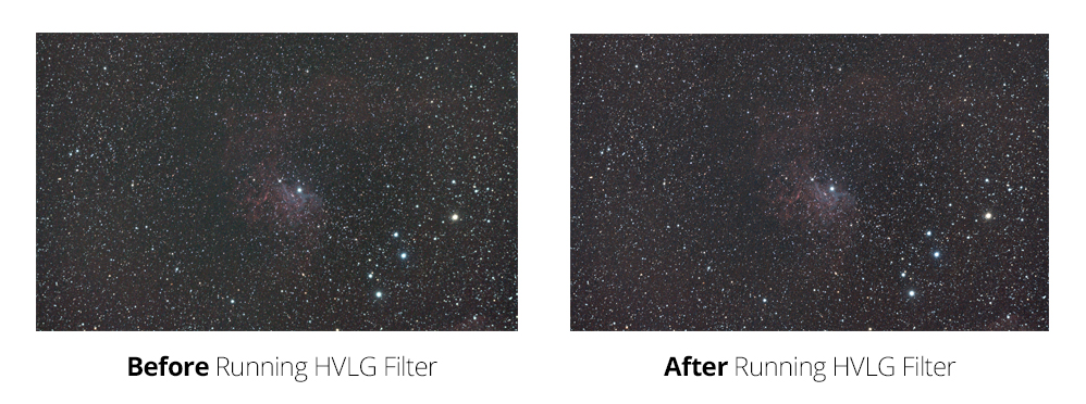 HLVG Filter for astrophotography