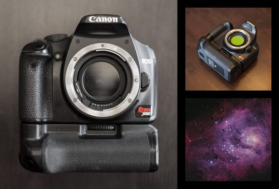 Canon Rebel Xsi for astrophotography
