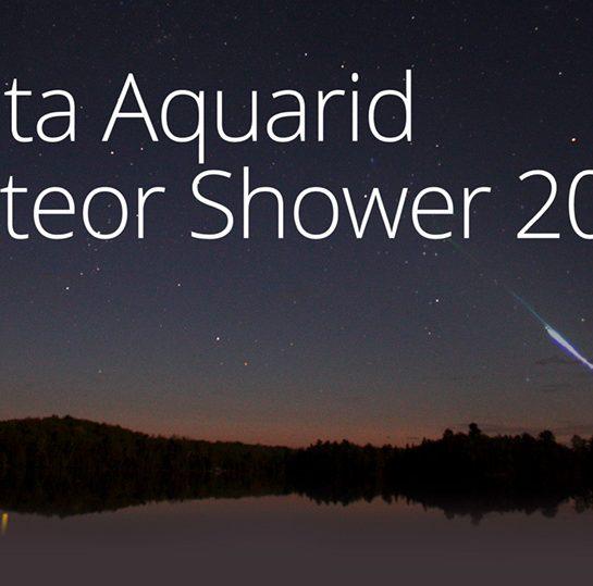 Delta Aquarid meteor shower 2016