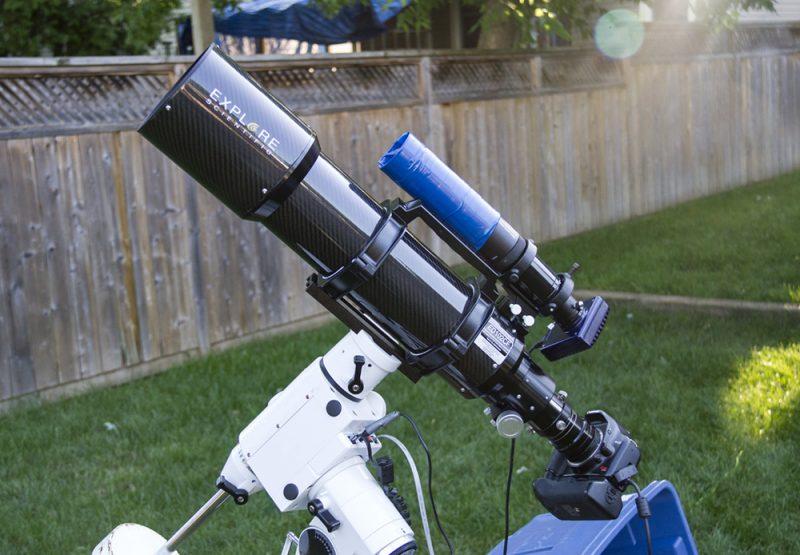изображение книги астрофотография зеркалкой через телескоп то