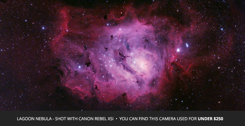 Canon Rebel DSLR | The Perfect Astrophotography Camera