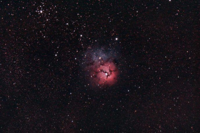 Tridi Nebula - DSLR astrophotography
