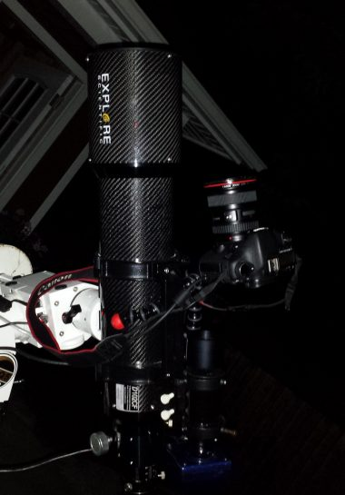 Mounting a Canon DSLR to a telescope with a Gorilla Pod