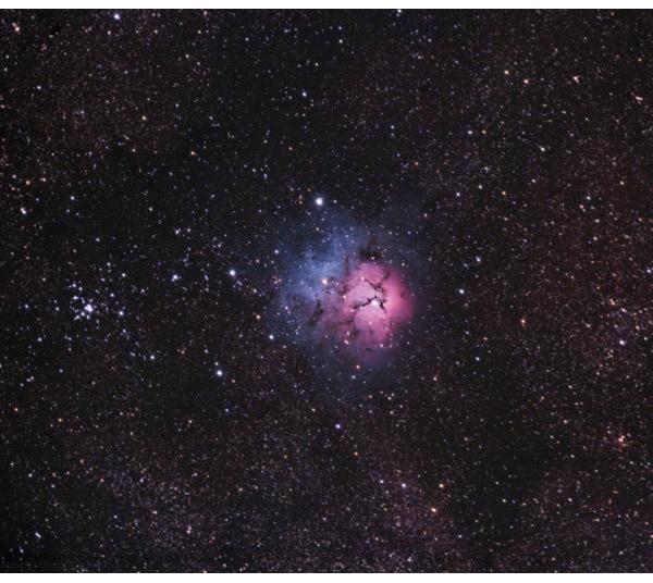 Trifid Nebula - Astrophotgraphy Example Image