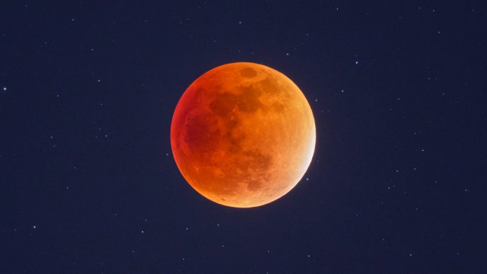 Moon photography - lunar eclipse
