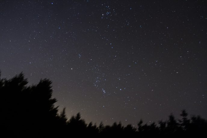 Winter Constelltions including Orion