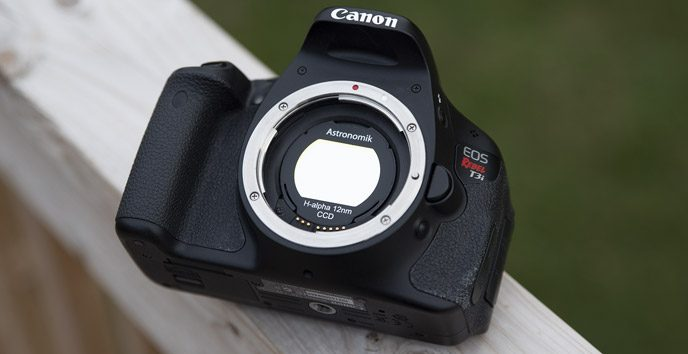 Canon DSLR Ha Filter