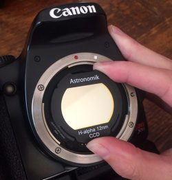 Canon EOS Ha Filter