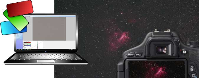 Deep Sky Stacker settings for astrophotography
