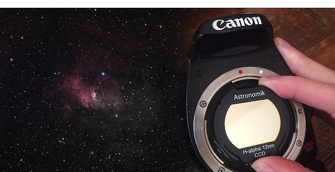 DSLR camera Ha filter