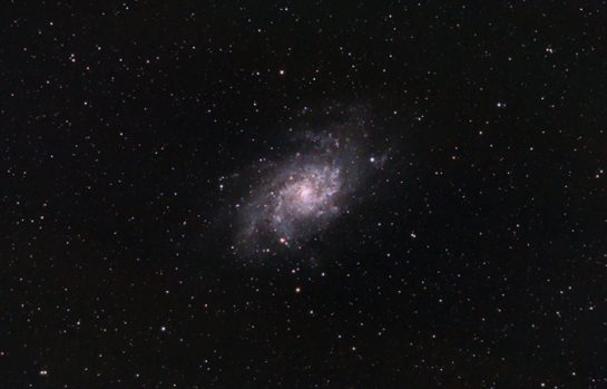 Astrophoto created by Deep Sky Stacker