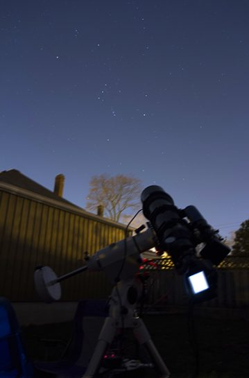 a beginner telescope for astrophotography