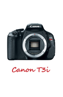 Canon T3i for astrophotography