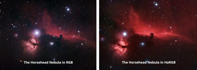 RGB and HaRGB Comparison