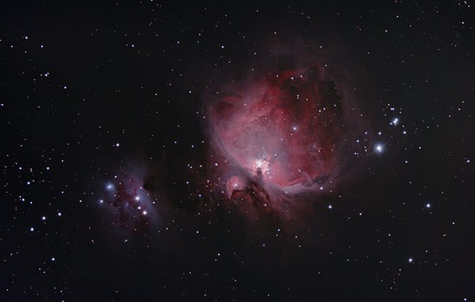Orion Nebula with a DSLR and Telescope