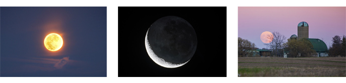 Moon photo gallery