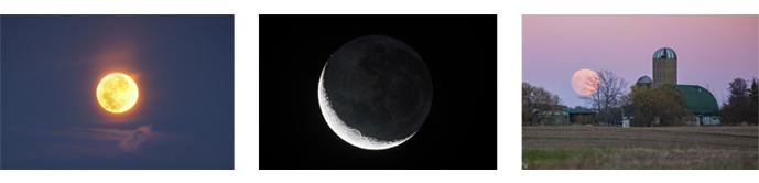 Moon photo gallery