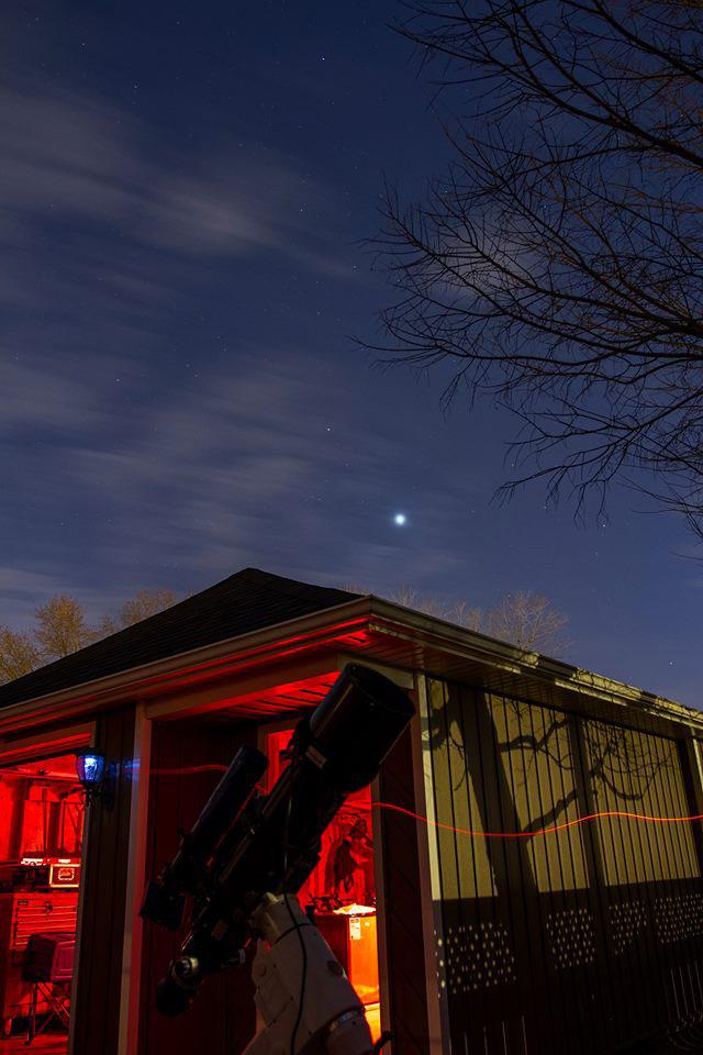 Backyard DSLR astrophotography