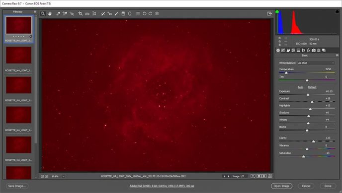 Adobe Camera Raw Processing