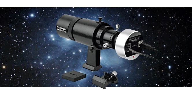 Autoguiding camera and telescope