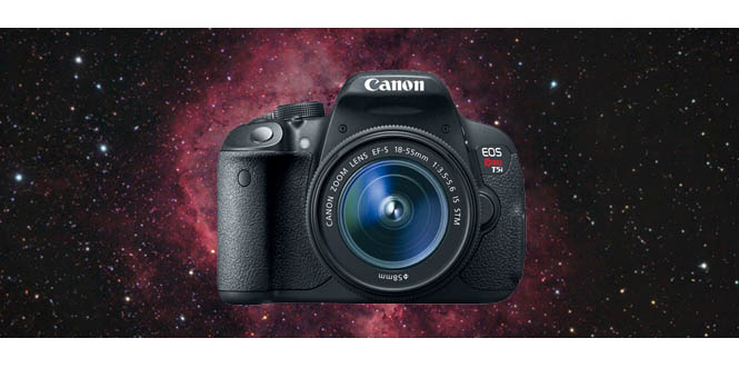beginner astrophotography DSLR camera