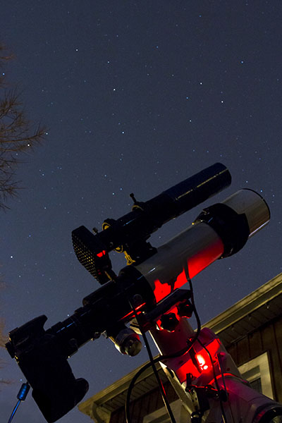 beginner deep-sky astrophotography setup