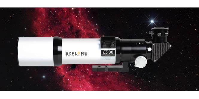 Explore Scientific ED80 telescope