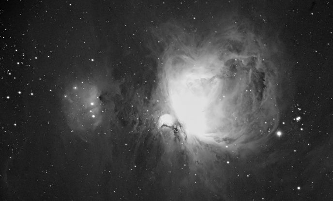 Orion nebula in Ha