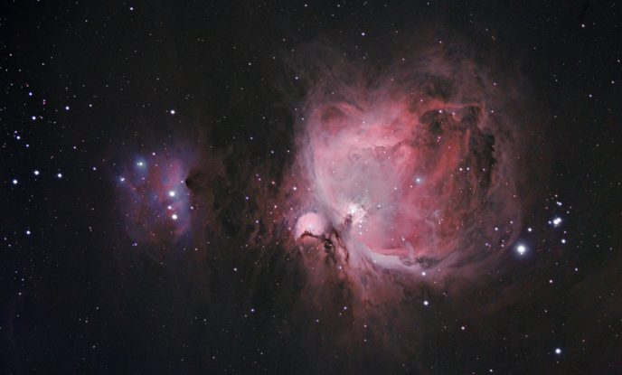 Orion nebula in HaRGB
