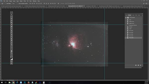 deep sky image processing