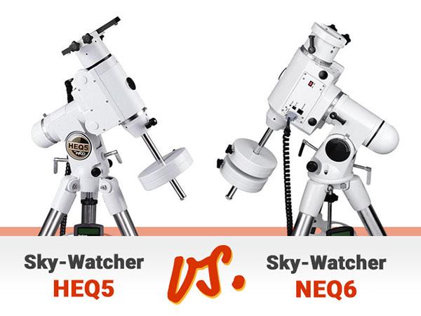 HEQ5 vs. NEQ6