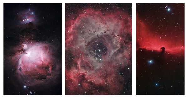 Winter astrophotography targets