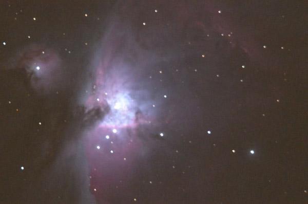 """Orion Nebula with 11"""" Celestron SCT"""