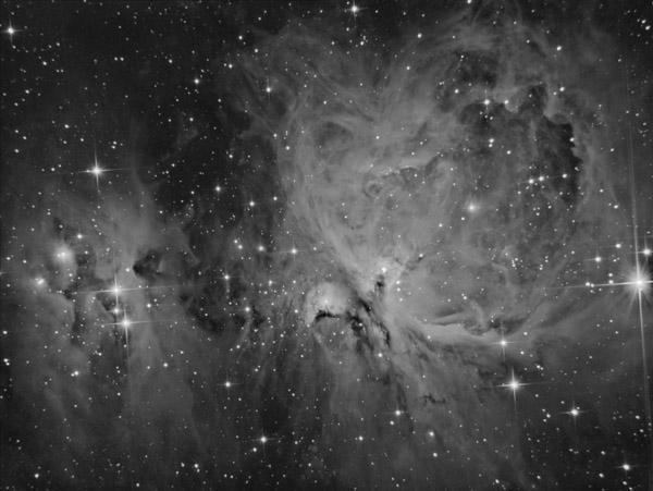Orion Nebula in Ha with QHY163m