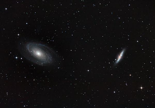M81 M82 Galaxies