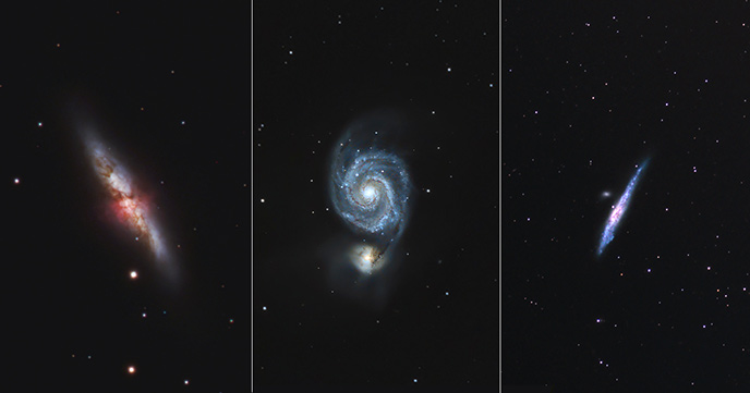 Galaxy Season Astrophotography Projects