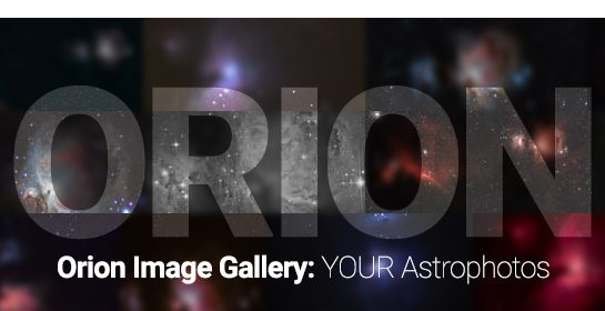 Orion Image Gallery