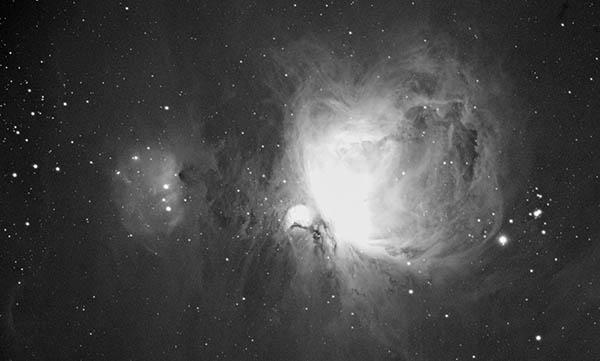 Orion nebula in Ha