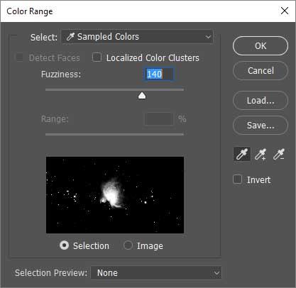Select Color Range