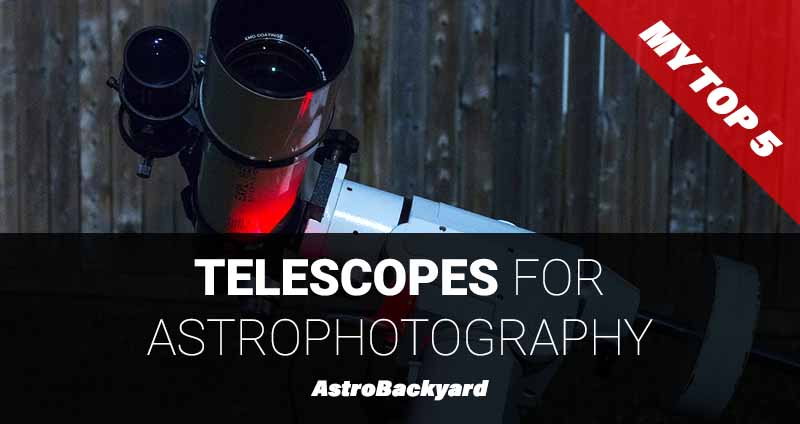 The best astrophotography telescope for a beginner my top 5