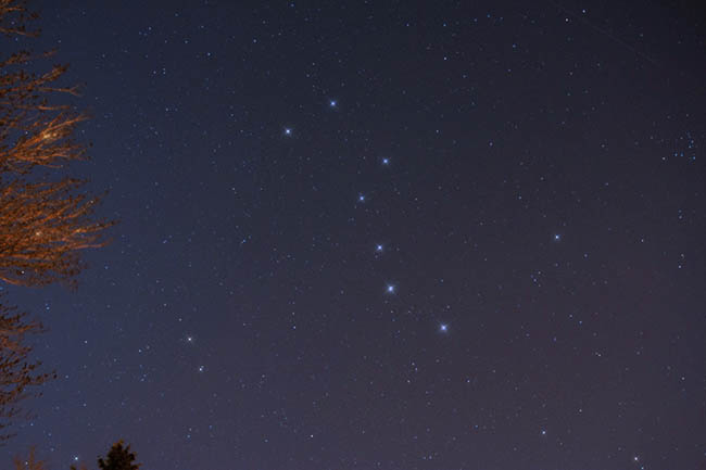 The Big Dipper in Spring