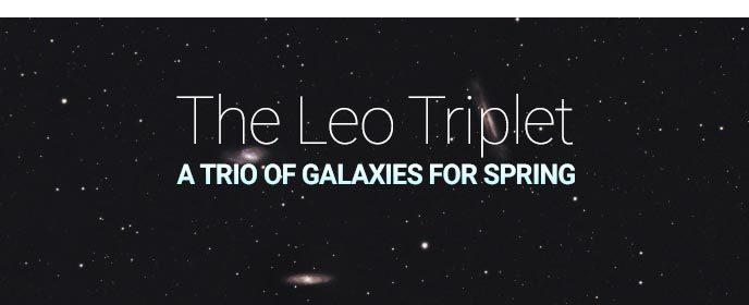 The Leo Triplet